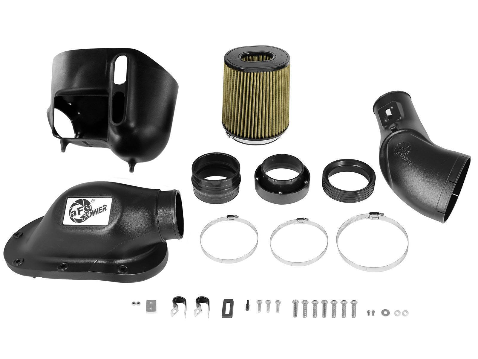 75-81872-1 - aFE Pro Guard 7 Type Si Performance Cold Air Intake System for 2011-2016 Ford Powerstroke 6.7L diesels