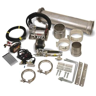 1027150 - BD Exhaust Brake & Compressor Kit - Remote Mount - Ford 2011-2016