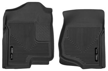 53101 - Husky Front Mats - Front - GM 2007-2014 Crew Cab/Extended Cab