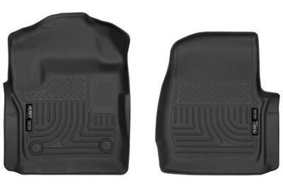 52721 - Husky Floor Mats - Front - Ford 2017-2018 Standard Cab
