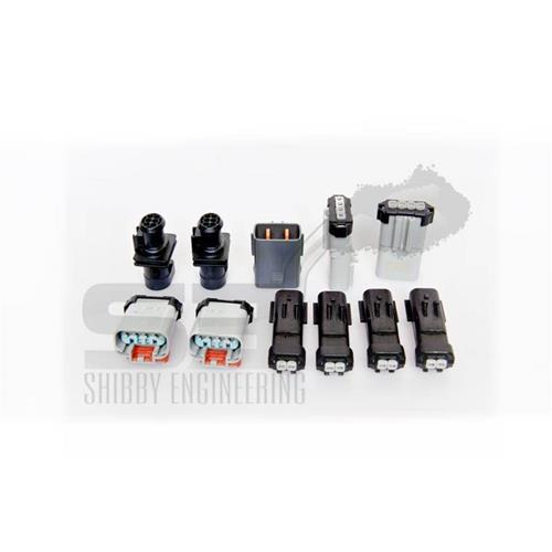 2007XRTPLG - Shibby Engineering H&S Race Tuner Plug Kit for 2007.5-2009 Dodge Cummins 6.7L diesel trucks
