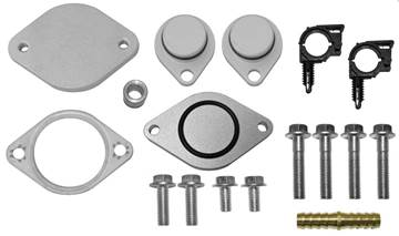 FPEGR64CD - FloPro EGR Cooler Only Delete Kit - Ford 2008-2010 6.4L Powerstroke