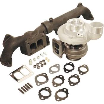 BD1045291 - BD Iron Horn Turbocharger Kit - S361SXE/76 w/ 1.00 A/R ratio - Dodge 2007.5-2018 Cummins