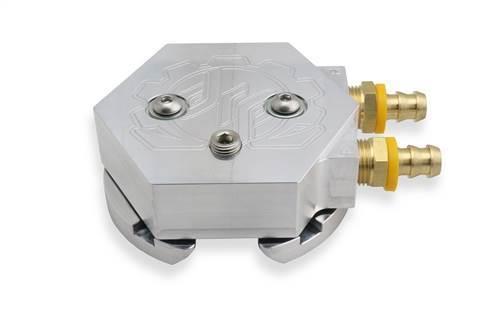 60207 - Deviant Race Parts (DRP) Fuel Tank Return Sump Kit - Silver