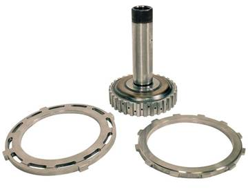 1062035 - BD Diesel's BIG STACK Shaft & Reaction Plate Kit for 2007-2018 Dodge Cummins 6.7L diesels with the 68RFE Transmission