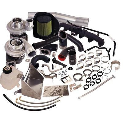 1045796 - BD Cobra Twin Turbocharger Kit - Dodge 2013-2018