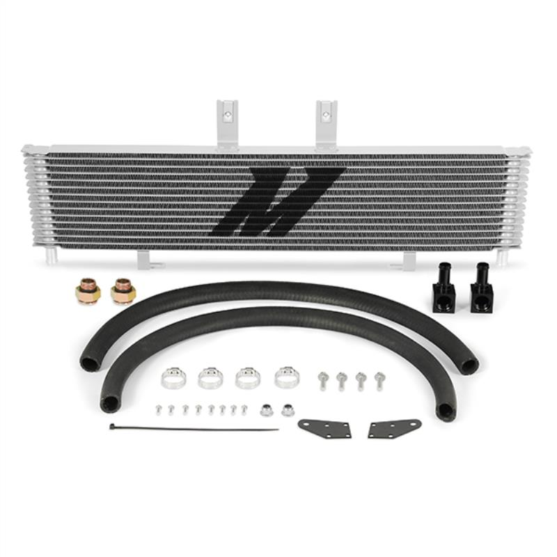 MMTC-DMAX-03SL - Mishimoto Transmission Cooler for 2003-2005 GMC/Chevy Duramax 6.6L LB7/LLY