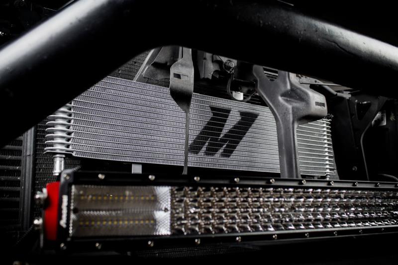 MMTC-DMAX-06SL - Mishimoto Transmission Cooler for 2006-2010 GMC/Chevy Duramax 6.6L LBZ/LMM - Installed