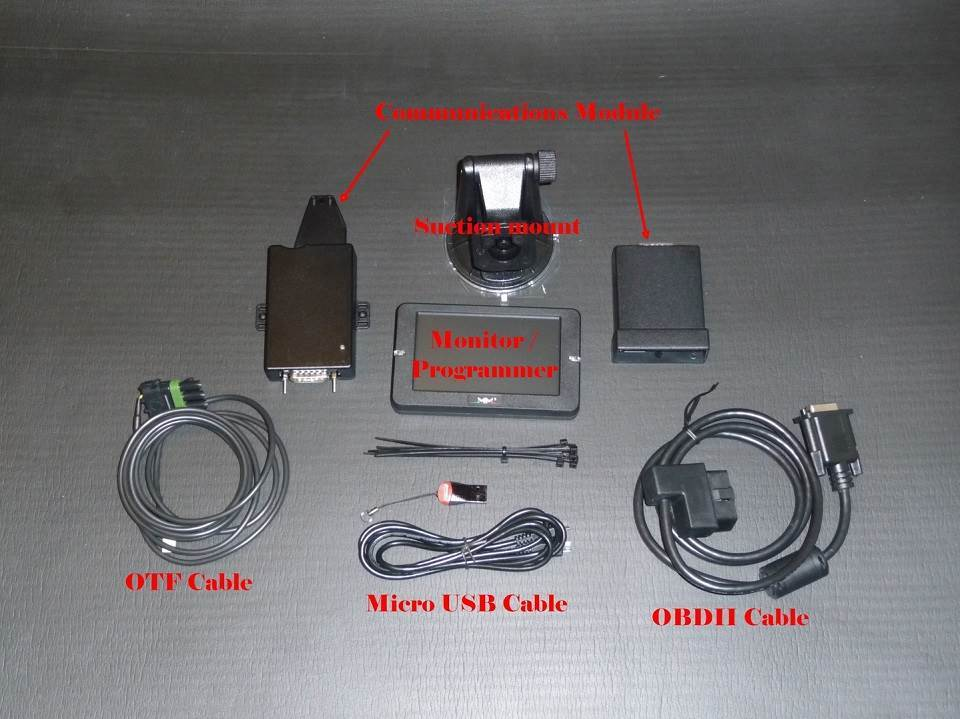 MM3 Power Programmer Kit Components