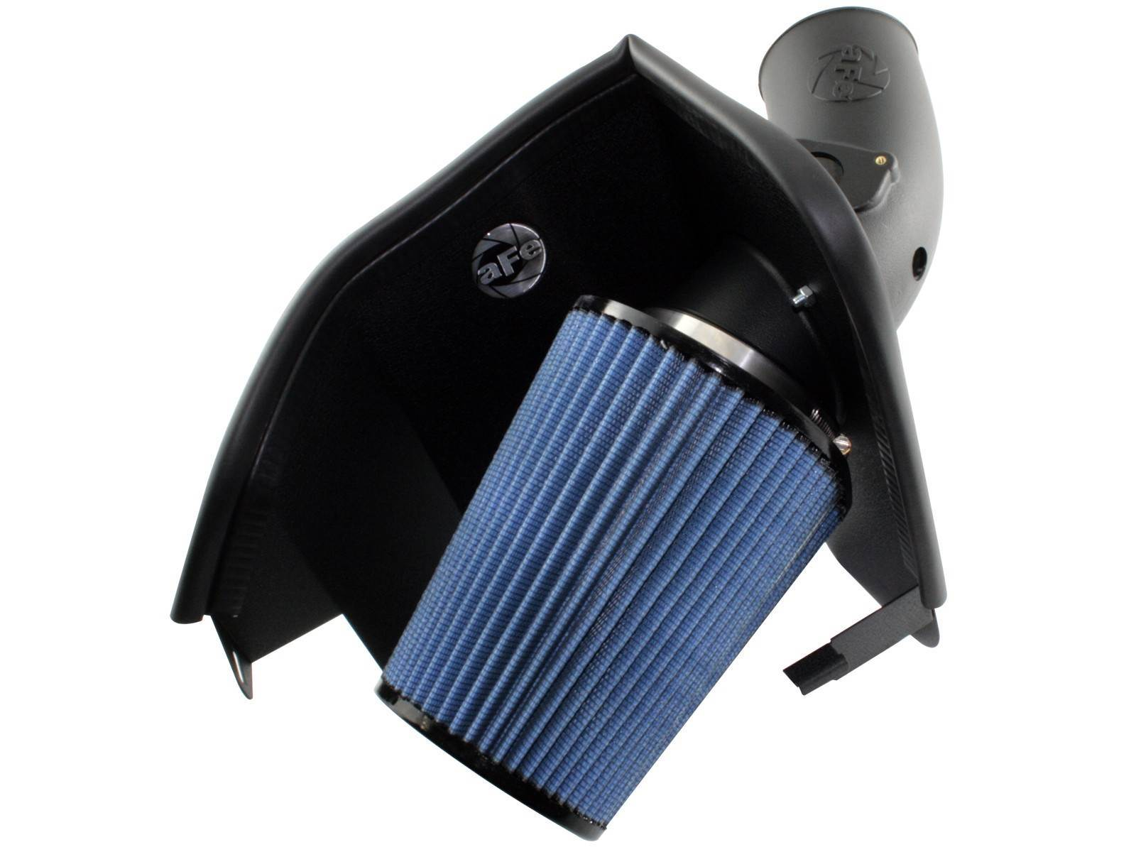 54-30392 - aFE Stage II Cold Air Intake System (Pro5R) for your 2003-2007 Ford Powerstroke 6.0L turbo diesel.