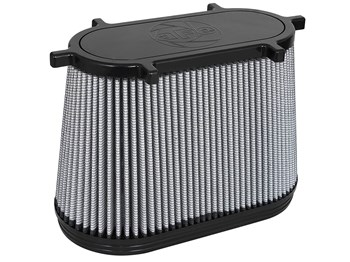 11-10107 - AFE Pro-Dry-S Performance air filter for your 2008-2010 Ford Powerstroke 6.4L diesel