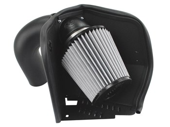 51-31342 - aFE Pro Dry S Performance Cold Air Intake system for your 2007-2012 Dodge Cummins 6.7L Diesel
