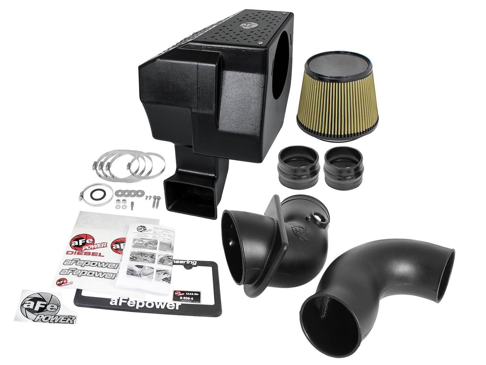 75-80882-0 - aFE Pro Guard 7 Type Si Performance Cold Air Intake System for 2006-2007 GMC/Chevy Duramax 6.6L LBZ diesels