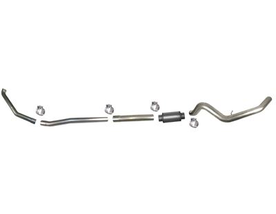 631 - Flo-Pro 5-inch Turbo Back Exhaust - Aluminized Ford 1999 - 2003