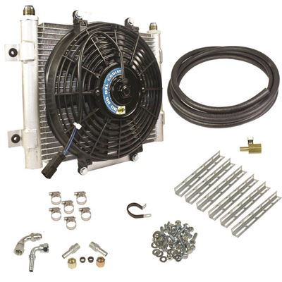 1030606-5/8 - BD Xtruded Auxiliary Transmission Cooler - GM 2001-2016