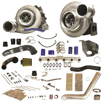 1045481 - BD RT700 Twin Turbo Kit for 2010-2012 Dodge Cummins 6.7L