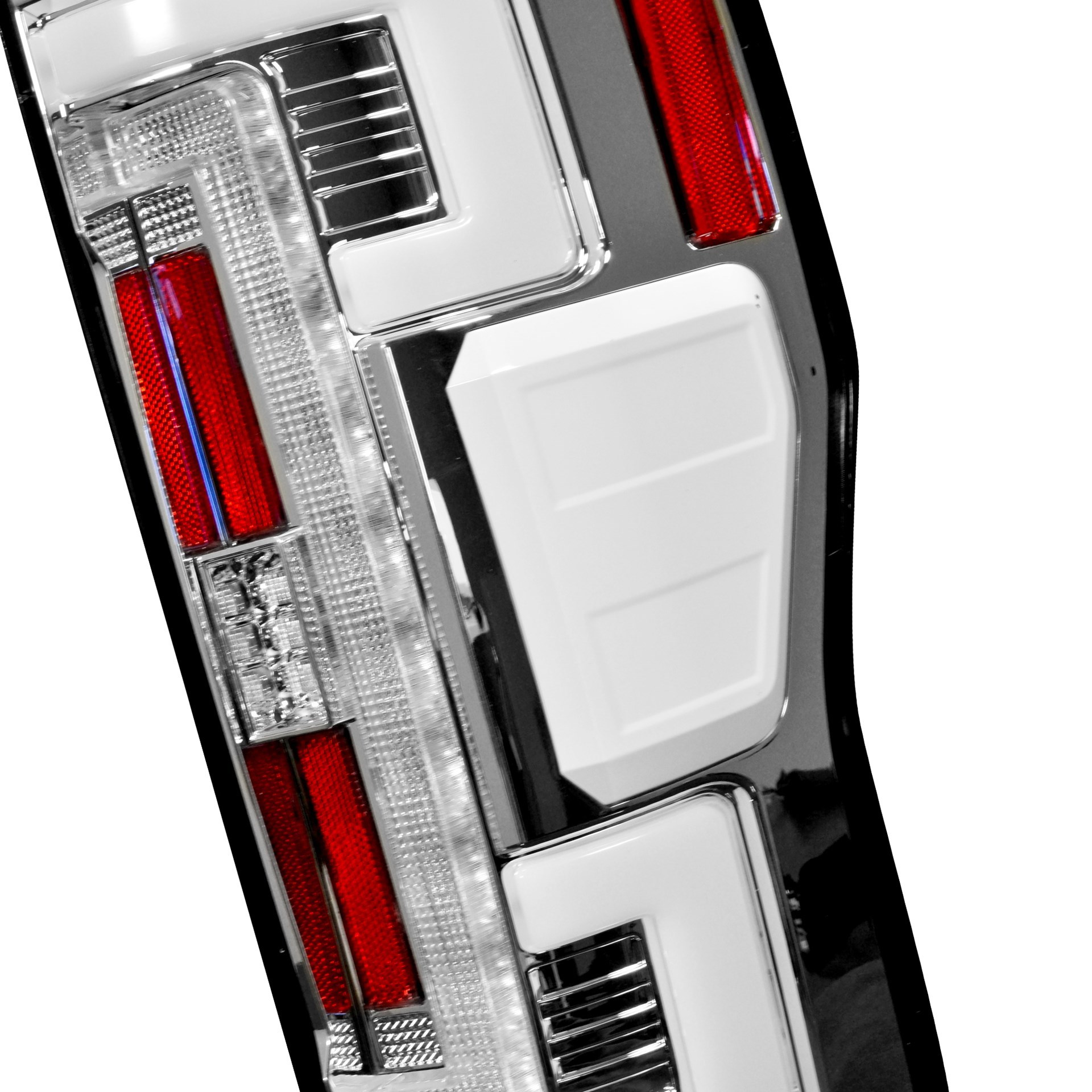 264299LEDCL - Recon OLED Tail Lights with Clear Lenses for 2017-2018 Ford Powerstroke 6.7L trucks