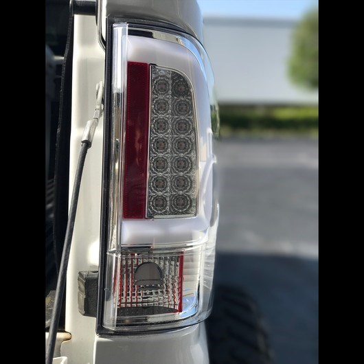 264293CL - Recon OLED Tail Lights - Clear Lens - Ford 2008-2016 Powerstroke 6.4L and 6.7L