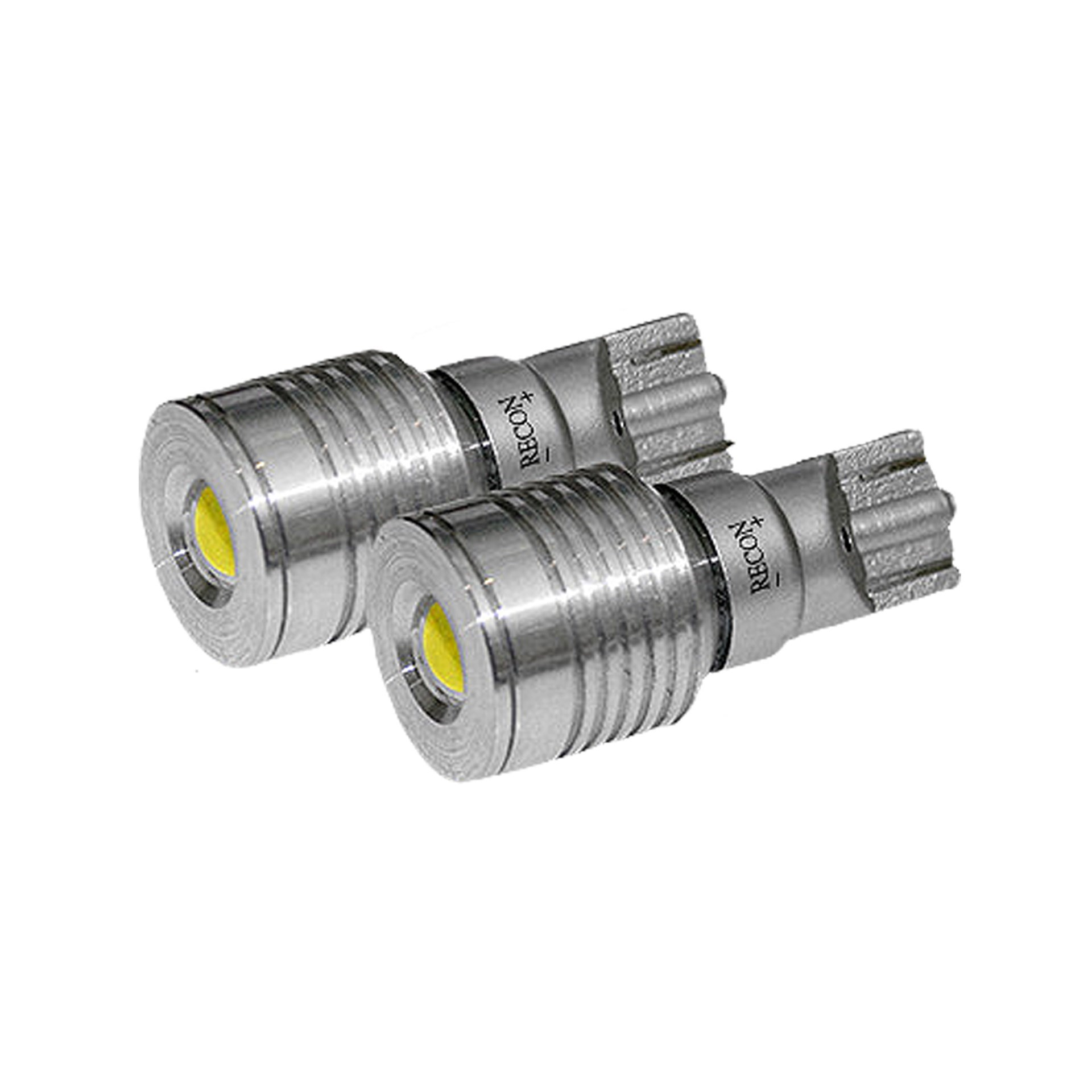 264225WH - Recon 921 T-15 (Ultra High Power Magnified LED) Bullet-Style Ultra High Power 3W SMD Bulbs ΓÇô WHITE (Set of 2)