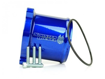 SD-TVD-6.7C - Sinister Diesel's Throttle Valve Delete Kit for 2008-2012 Dodge Cummins 6.7L diesels