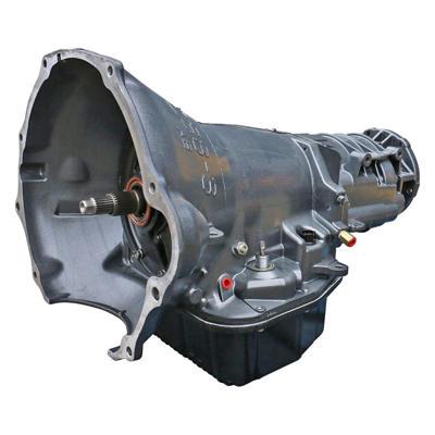 1064164BF - BD Diesel's Heavy Duty 47RE Transmission with Billet Input Shaft, Remote Filter Kit for 1996-1997 Dodge Cummins 12V 4WD Diesels