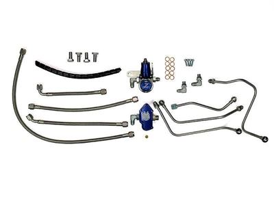 SD-FUELREG-6.0 - Sinister Diesel's Regulated Fuel Return Kit for 2003-2007 Ford Powerstroke 6.0L diesels