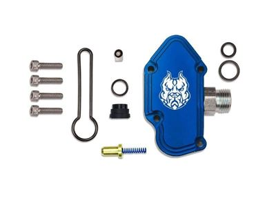 SD-FUELBLK-6.0 - Sinister Diesel Blue Spring Kit w/ Billet Spring Housing for 2003-2007 Ford Powerstroke 6.0L diesels