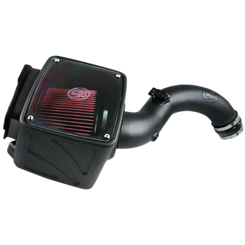 75-5102 - S&B Cold Air Intake System (Oiled & Reusable Air Filter) for 2004-2005 GMC/Chevy Duramax 6.6L LLY diesel trucks