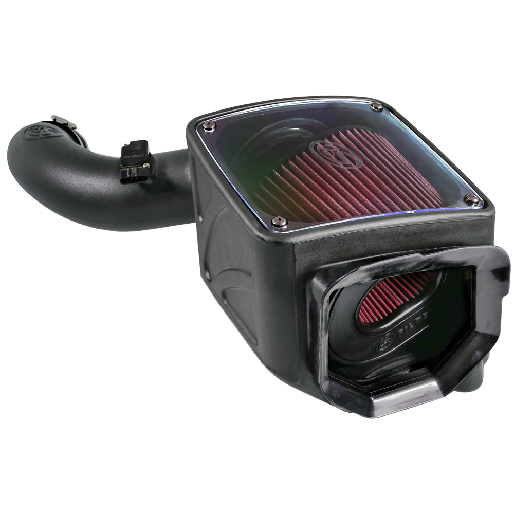 75-5101 - S&B Cold Air Intake System (Oiled & Reusable Air Filter) for 2001-2004 GMC/Chevy Duramax 6.6L LB7 diesel trucks