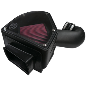 75-5090 - S&B Cold Air Intake System (Oiled & Reusable Air Filter) for 1994-2002 Dodge Cummins 5.9L diesel trucks