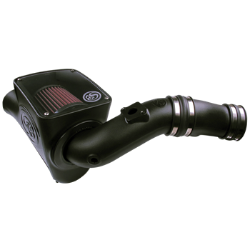 75-5070 - S&B Cold Air Intake System (Oiled & Reusable Air Filter) for 2003-2007 Ford Powerstroke 6.0L diesel trucks