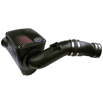 """75-5070 - S&B Cold Air Intake System (Oiled & Reusable Air Filter) for 2003-2007 Ford Powerstroke 6.0L diesel trucks	"""