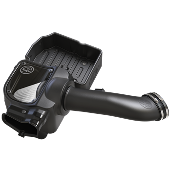 75-5085D - S&B's Cold Air Intake System with a dry and disposable air filter for your 2017-2018 Ford Powerstroke 6.7L diesel