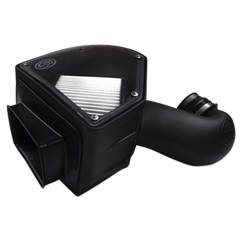 75-5090D - S&B Cold Air Intake System (Dry and Disposable Air Filter) for 1994-2002 Dodge Cummins 5.9L diesel trucks