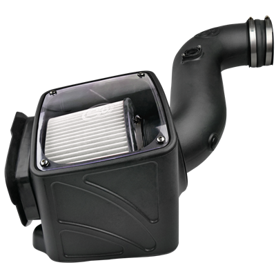 75-5080D - S&B Cold Air Intake System (Dry and Disposable Air Filter) for 2006-2007 GMC/Chevy Duramax 6.6L LBZ diesel trucks