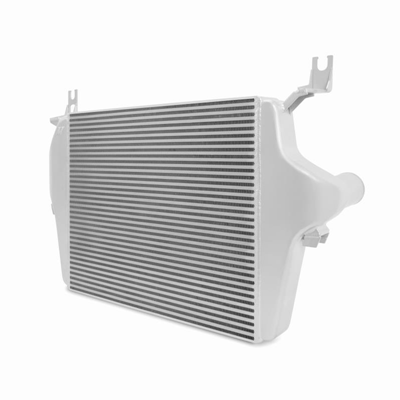 MMINT-F2D-03SL - Mishimoto Intercooler for 2003-2007 Ford Powerstroke 6.0L F250-F550 diesel trucks - Silver Finish