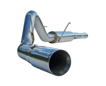 S6108304 - MBRP 4-inch Cat Back Exhaust - 304 Stainless WM/WT Dodge 2004.5-2007