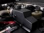 MMRT-F2D-08E - Mishimoto Aluminum Degas Tank - for Ford 6.4L Powerstroke 2008-2010 diesel trucks - Installed View