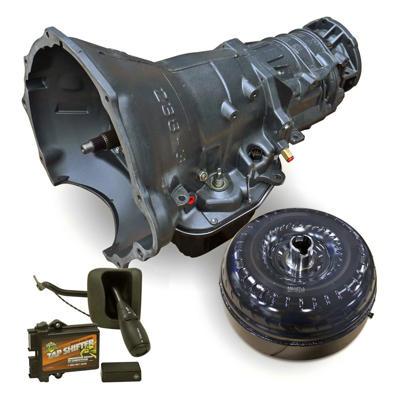 1064194SST - BD's HD 48RE Transmission w/ Tap Shifter & Torque Converter Package for 2003-2004 Dodge Cummins 5.9L 4WD diesel trucks