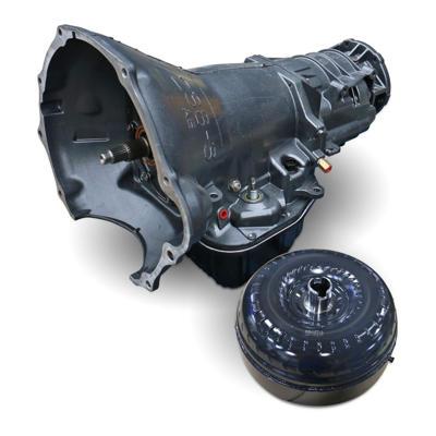 1064234SS - BD's HD 48RE Transmission & Torque Converter Package for 2005-2007 Dodge Cummins 5.9L 4WD diesel trucks