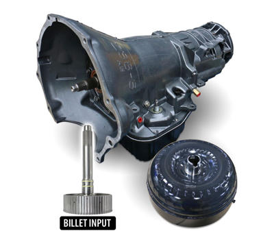 1064192BM - BD's HD 48RE Transmission w/ Billet Input Shaft & Torque Converter Package for 2003-2004 Dodge Cummins 5.9L 2WD diesel trucks