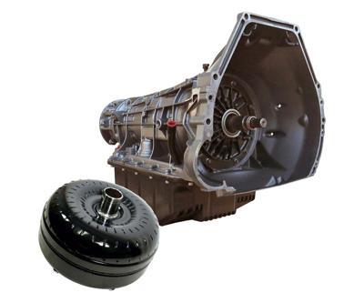1064442SM - BD HD 4R100 Transmission & Torque Converter package for 1999-2003 Ford Powerstroke 7.3L diesel trucks