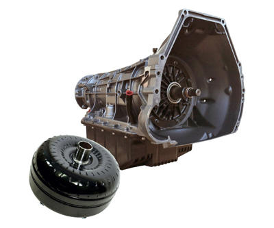 1064444SM - BD HD 4R100 Transmission & Torque Converter package for 1999-2003 Ford Powerstroke 7.3L 4WD diesel trucks