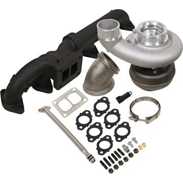 1045170 - BD Iron Horn Turbo Kit - S361SXE/76 0.91AR for 2003-2007 Dodge Cummins Trucks