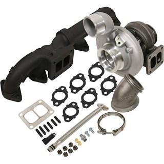 1045174 - BD Iron Horn Turbo Kit - S364SXE/80 0.91AR for 2003-2007 Dodge Cummins Trucks