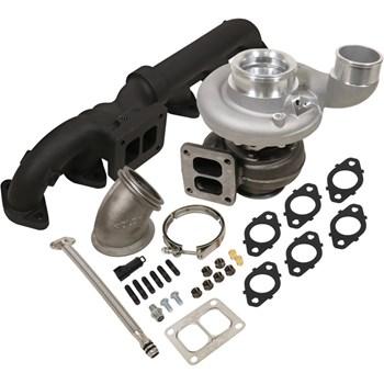 1045179 - BD Iron Horn Turbo Kit - S369SXE/80 1.00AR for 2003-2007 Dodge Cummins Trucks