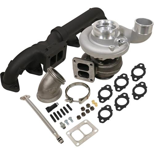 1045179 - BD Iron Horn Turbo Kit - S369SXE/80 1.00AR for 2003-2007 Dodge Cummins Trucks