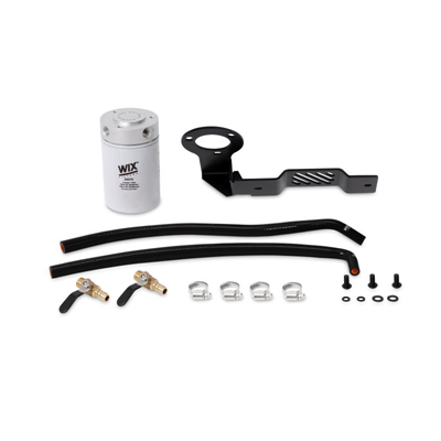 MMCFK-XD-16BK - Mishimoto's Coolant Filter Kit for 2016-2019 Nissan Titan XD 5.0L Cummins Diesels - Black Coloured Hoses
