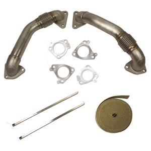 1043800 - BD Duramax Up-Pipe Kit for 2001-2004 GM Duramax LB7 diesels