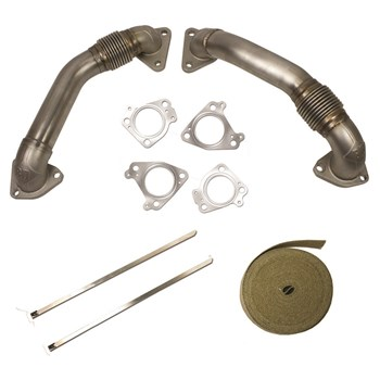 1043800 - BD Duramax Up-Pipe Kit for 2001-2004 GM Duramax LB7 diesels